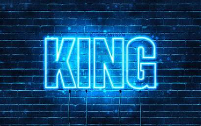 King 4k Wallpapers Names Neon Desktop Horizontal