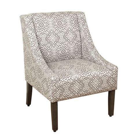 homepop swoop accent chair in tonal gray 17587559