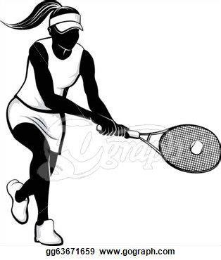girl tennis clipart google search tennis tennis tennis racket rackets