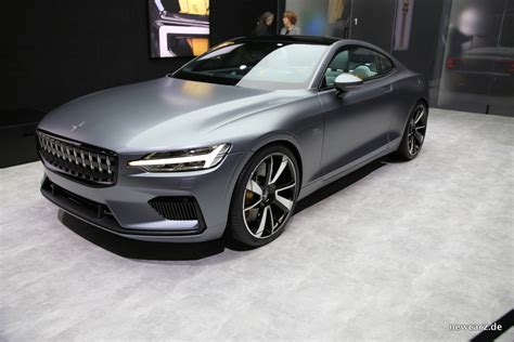 Magna Genfer Autosalon 2018 by Polestar 1 Performance Hybrid Auf Genfer Autosalon