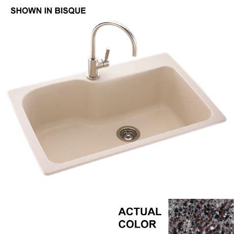 single basin kitchen sink shop swanstone single basin drop in or undermount
