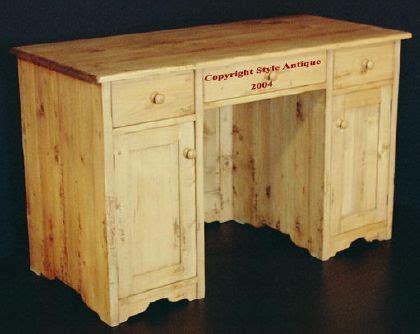 vieux bureau bois bureau en pin massif vieux bois