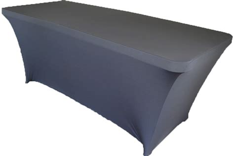 spandex table covers cheap 8 ft rectangular pewter spandex table covers