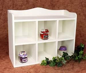 Regal Weiß Landhaus : setzkasten wandregal 12020 regal 40cm vintage shabby landhaus k chenregal wei ebay ~ Orissabook.com Haus und Dekorationen
