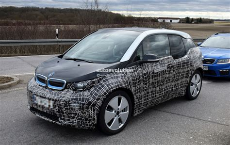 2018 Bmw I3 Facelift Spotted In German Traffic I3s