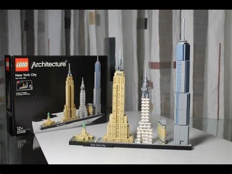 Badmöbel Set New York by Lego Architecture Set 21028 New York City Unboxing
