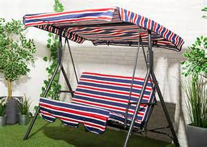 2 Seater Swing Canopy Replacement Covers