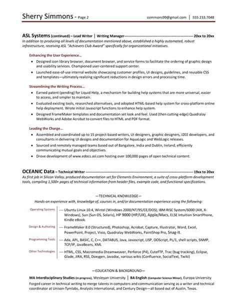 Professional Resumes Writers by Resume Sles Exles Brightside Resumes