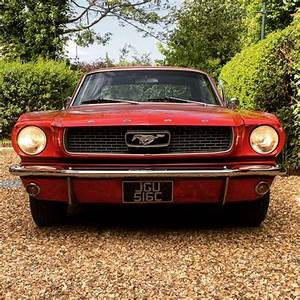 For Sale – 1965 FORD MUSTANG CLASSIC RED STRAIGHT SIX | Classic Cars HQ.