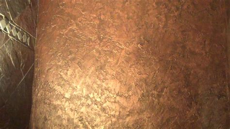 faux painting ideas for bathroom textured metallic wall finish