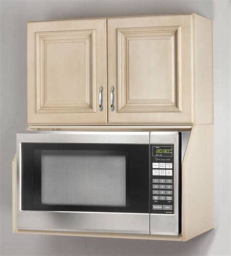 Cabinet For Microwave by Tuscany White Maple Microwave Oven Wall Cabinet Set Ebay