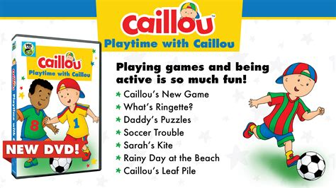 Caillou, Caillou Website, The Home Of Caillou
