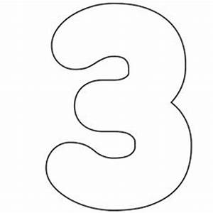 it39s as easy as 1 2 3 to use free printable numbers With number 3 cake template