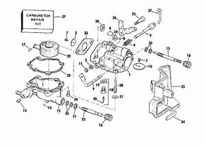 Carburetor Parts For 1976 2hp 2602s Outboard Motor