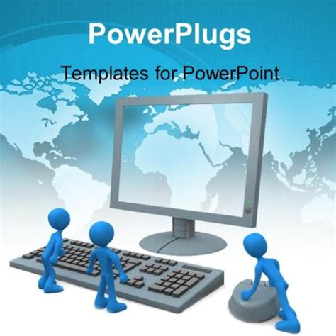 computer powerpoint template choice image templates