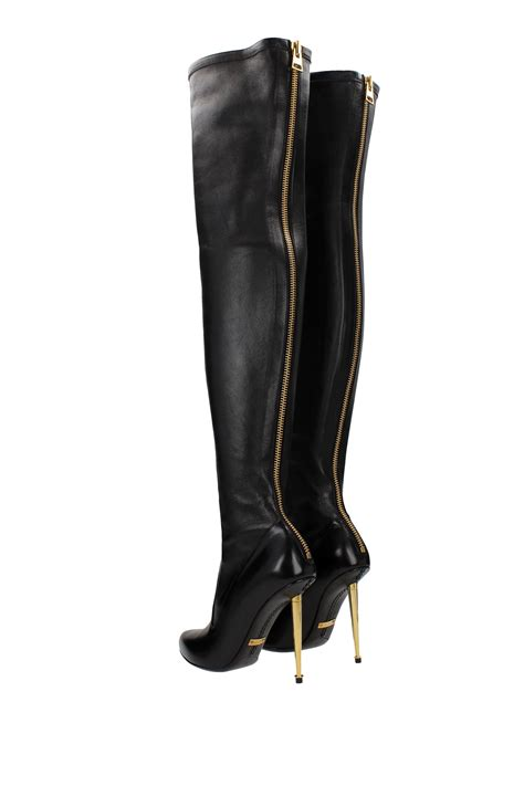 tom ford leather boots tom ford leather black 214w1151tnstblk ebay