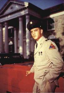 elvis in his army