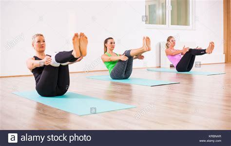 Boat Pose Images by Navasana Stock Photos Navasana Stock Images Alamy