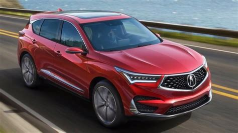 2019 Acura Rdx First Photos Of Restyled Luxo Suv Carscoops