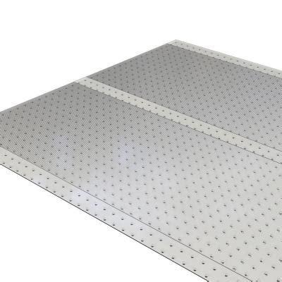Plastic Carpet Runner Home Depot by Es Robbins Clear 27 In X 10 Ft Vinyl Ribbed Rug Runner