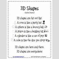 10 Activities For Describing 3d Shapes In Kindergarten Kindergartenworks
