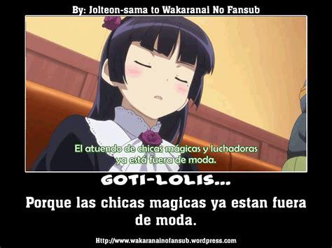 desmotivaciones anime part  wakaranainofansub