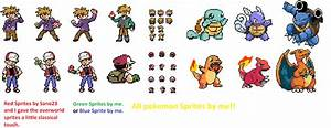Girl Pokemon Fire Red Sprites Images | Pokemon Images