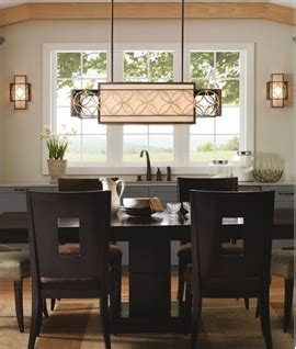 lighting above kitchen table dining room lights lighting styles 7026