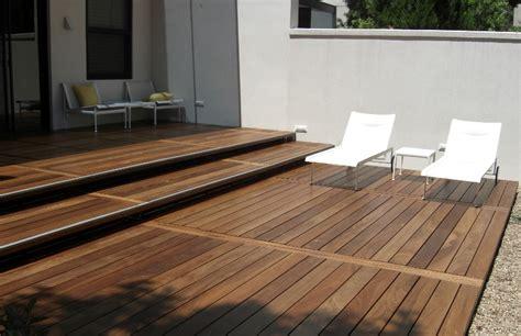 ipe decking opus ipe deck in tropical backyard edeck com