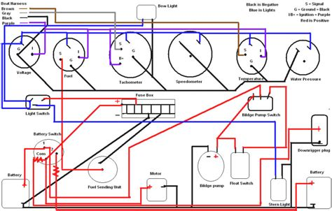 tracker  ft pontoon boat wiring diagram