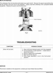 Hobart Mixer D340 Wiring Diagram