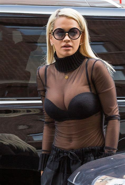 Rita Ora Flaunts Posts Topless Photo On Instagram