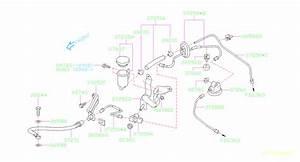 2011 Subaru Legacy Cap Clutch Master Cylinder  System