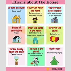 Home Idioms 28 Useful Idioms About The House And Home  7 E S L