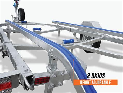 Boat Trailer Wheels Brisbane by 4m Boat Trailer Drive On Skid Type Tinny Seajay Quintrex