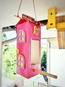 Basteln Mit Milchtüten : vogelfutterhaus aus milcht ten oder tetra pak basteln und recyclen mit kindern im winter ~ Frokenaadalensverden.com Haus und Dekorationen