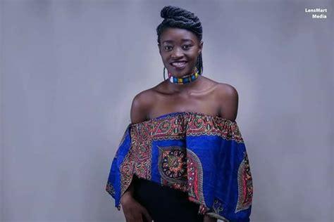 Laika Lyempe Miss Pageant Zambia 2017.