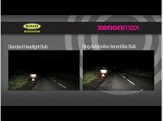 Xenon vs Halogen headlights YouTube