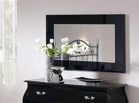 espejo negro ld   dormitorios moderno