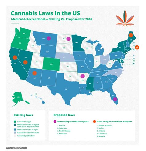 all the states voting on legalizing marijuana in 2016 motherboard