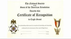 vassar eagle scout program With eagle scout certificate template