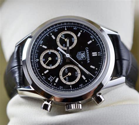 tag heuer carrera chronograph  mm ref cv