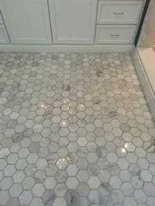 the tile shop hton carrara 3 quot hex with images