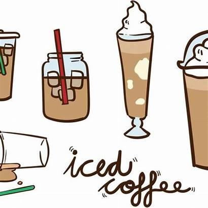 Clipart Coffee Iced Clip Clker Rating