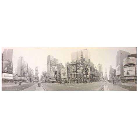 toile imprimee new york toile imprim 233 e new york quot times square quot gris