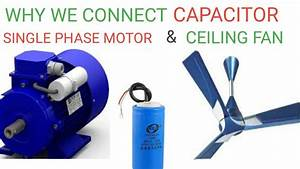 Difference Between Single Capacitor And Dual Ceiling Fan
