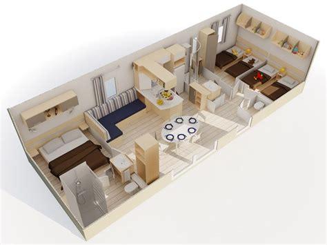 mobil home 3 chambres 2 salles de bain le méditerranée mobilhome 8 couchages 2 salles de