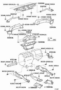 2003 Toyota Camry Housing  Heater Control  Dk Charcoal