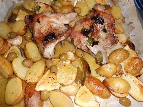 recette de lapin au four citron et sauge