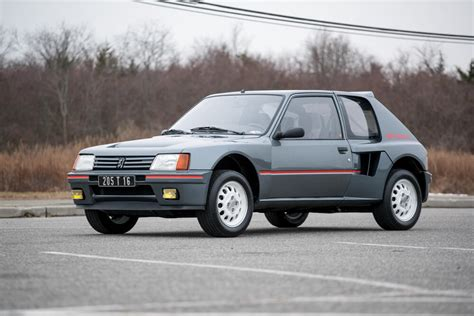 Peugeot 205 Turbo 16 For Sale by A Subasta Este Peugeot 205 Turbo 16 De 1984 Periodismo